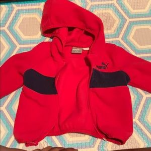 Baby boy fleece sweater